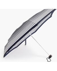J.Crew - Pocket Umbrella In Stripe - Lyst