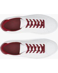 J.Crew - Unisex Koio Capri Chili Perforated Sneakers - Lyst 0bd6cf9cd