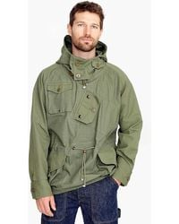 J.Crew - Canoeist Smock Jacket In Ripstop Cotton - Lyst