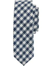 J.Crew - Cotton Tie In Classic Gingham - Lyst