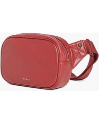 J.Crew - State Bags Crosby Leather Fanny Pack - Lyst