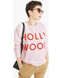 """J.Crew - """"hollywood"""" Sweatshirt - Lyst"""