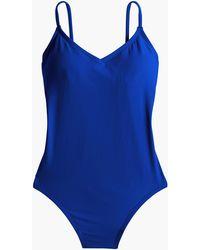 67d811e204a39 J.Crew Ballet One-piece Swimsuit In Italian Matte in Brown - Lyst