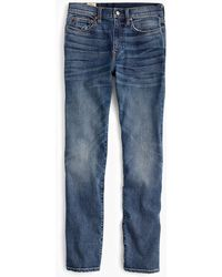 J.Crew - 770 Straight-fit Stretch Jean In Light Worn Wash - Lyst