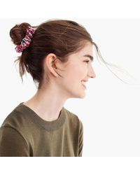 J.Crew - Liberty Scrunchie - Lyst