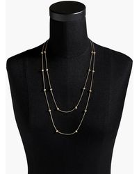 J.Crew - J. Crew Double-strand Crystal Necklace - Lyst