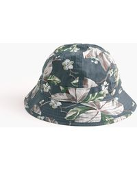 J.Crew - Bucket Hat In Floral - Lyst