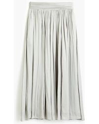 J.Crew - Point Sur Crinkled Maxi Skirt - Lyst