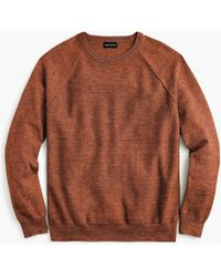 J.Crew - Slim rugged Cotton Sweater - Lyst