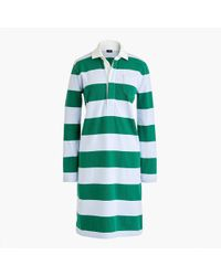J.Crew - Petite Women's 1984 Rugby Shirtdress - Lyst
