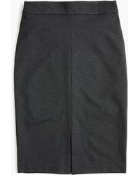 J.Crew - Tall A-line Pencil Skirt In Recycled Ponte - Lyst