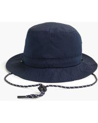 5edf87e1b5987 J.Crew Printed Dot Chambray Baseball Hat in Blue for Men - Lyst