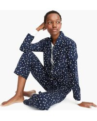 J.Crew - Vintage Pyjama Set In Constellations - Lyst