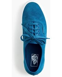 Vans - Soft Suede Authentic Sneakers - Lyst