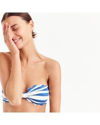 Marysia Swim - Antibes Bikini Top In Watercolor Stripe - Lyst
