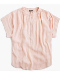 J.Crew - Point Sur Drapey Popover Shirt - Lyst
