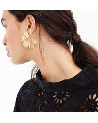 J.Crew - Blossom Hoop Earrings - Lyst