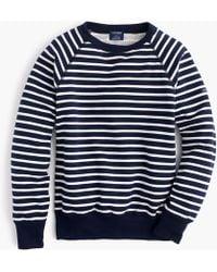 Saint James - Striped Sweatshirt - Lyst