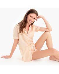 J.Crew - Short-sleeve Pajama Set In Dot - Lyst