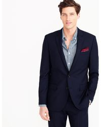 J.Crew - Ludlow Suit Jacket With Double Vent In Italian Wool - Lyst