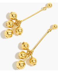 J.Crew - Demi-fine 14k Gold-plated Pearl Drop Earrings - Lyst