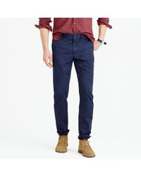 J.Crew - Broken-in Chino Pant In 770 Straight Fit - Lyst