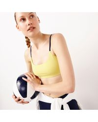 New Balance - Adjustable Sports Bra In Trinamic Fabric - Lyst