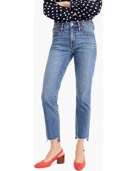 J.Crew - Vintage Straight Jean In Soft Light Indigo Wash - Lyst