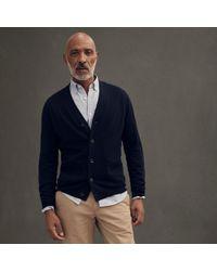 J.Crew - Slim Merino Wool Wide Placket V-neck Cardigan Sweater - Lyst