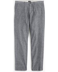 J.Crew - 770 Straight-fit Pant In Stretch Chambray - Lyst