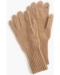 J.Crew - Texting Gloves In Everyday Cashmere - Lyst