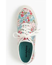 Seavees - Legend Sneakers In Liberty Poppy & Daisy Floral - Lyst