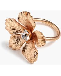 J.Crew - Pansy Ring - Lyst