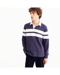 J.Crew - Unisex 1984 Rugby Shirt In Double Stripe - Lyst