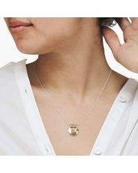 Odette New York - Mini Canyon Necklace - Lyst