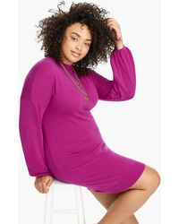 J.Crew - Universal Standard Mockneck Jumper Dress - Lyst