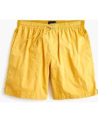 J.Crew - Climbing Short In Cotton-nylon - Lyst