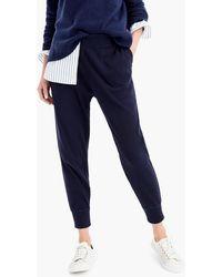 J.Crew - Pyjama jogger Pant In Waffled Cotton - Lyst