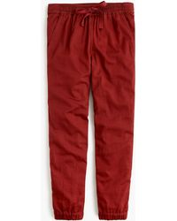 7344e1c391 J.Crew - Point Sur Seaside Pant In Cotton Twill - Lyst