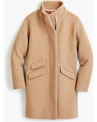 J.Crew - Tall Cocoon Coat In Italian Stadium-cloth Wool - Lyst