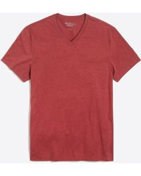 J.Crew - Slim Mercantile Broken-in V-neck T-shirt In Heather Grey - Lyst
