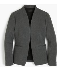 J.Crew - Petite Going-out Blazer In Stretch Twill - Lyst