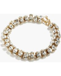 J.Crew - Twisted Crystal Necklace - Lyst