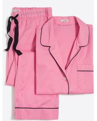 J.Crew - Long-sleeve End-on-end Pajama Set - Lyst