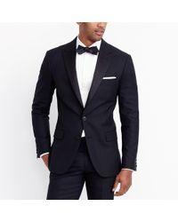 J.Crew - Peak-lapel Tuxedo Jacket In Wool - Lyst