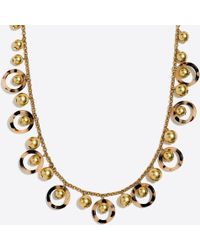 J.Crew - Tortoise Orbit Necklace - Lyst