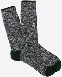 J.Crew - Marled-cotton Tipped Socks - Lyst