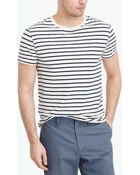 J.Crew - Slim Broken-in Deck-striped T-shirt - Lyst