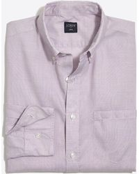 J.Crew - Mercantile Slim-fit Washed Shirt In End-on-end Cotton - Lyst