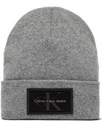 b07e098a336 Calvin Klein Re-issue Baseball Cap in Black for Men - Lyst